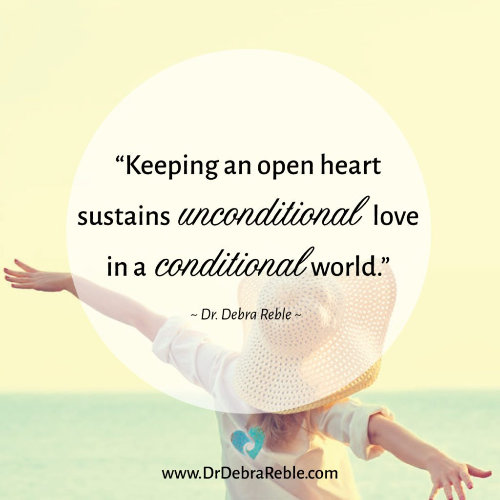 Quotes Unconditional Love Quote Keeping An Open Heart Sustains Unconditional Love In An