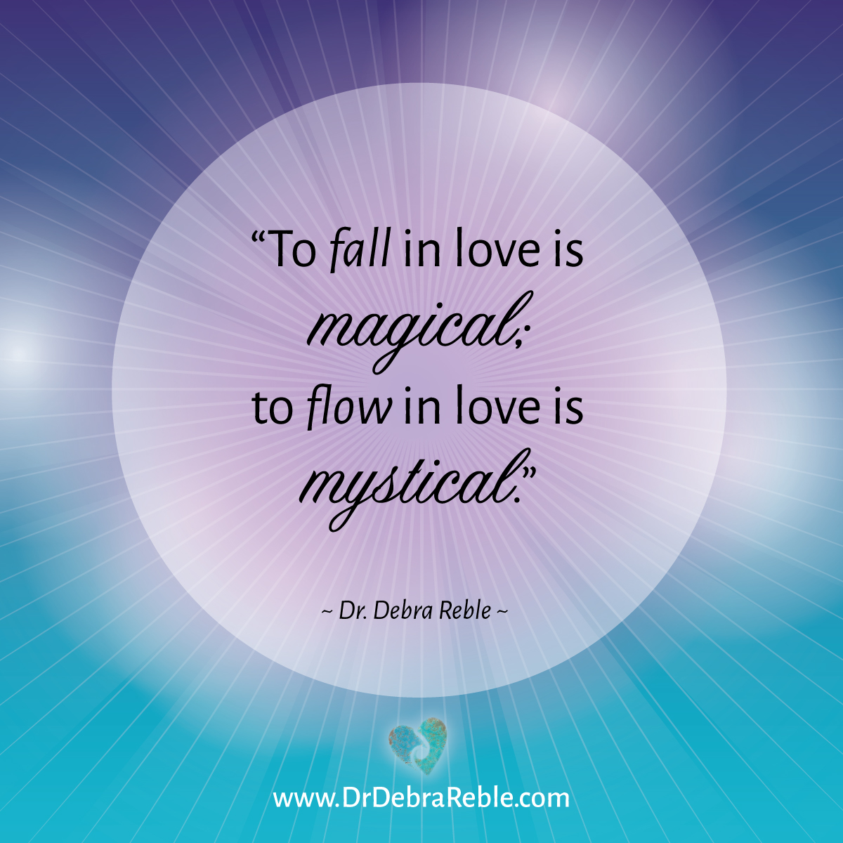 Magical Love Quotes: QUOTE: To Fall In Love Is Magical; To Flow In Love Is