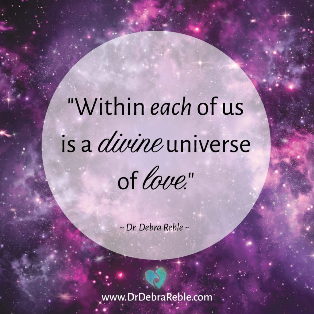 Love Quotes For Us Quote Within Each Of Us Is A Divine Universe Of Love Debra L